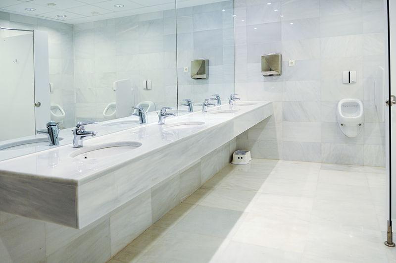 Nice clean public bathroom Architecture Bathroom Bathroom Sink Day Domestic Bathroom Domestic Room Faucet Hygiene Indoors  Luxury Mirror Modern No People Shower Shower Head Sink
