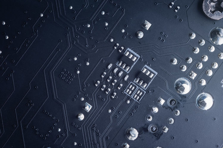 Close-Up Of Circuit Board Backgrounds Close-up Control Panel Full Frame Indoors  Music No People Technology
