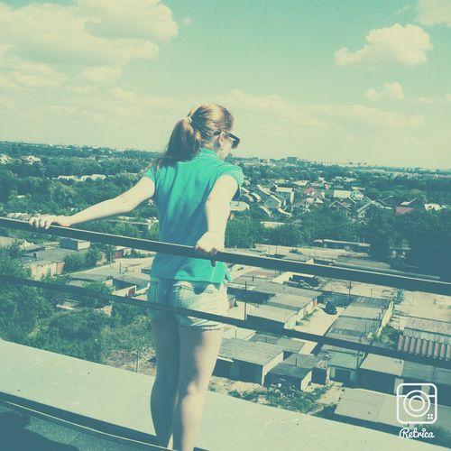 На крыше:3