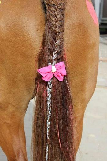 Horse Lametta Pink Unicorn