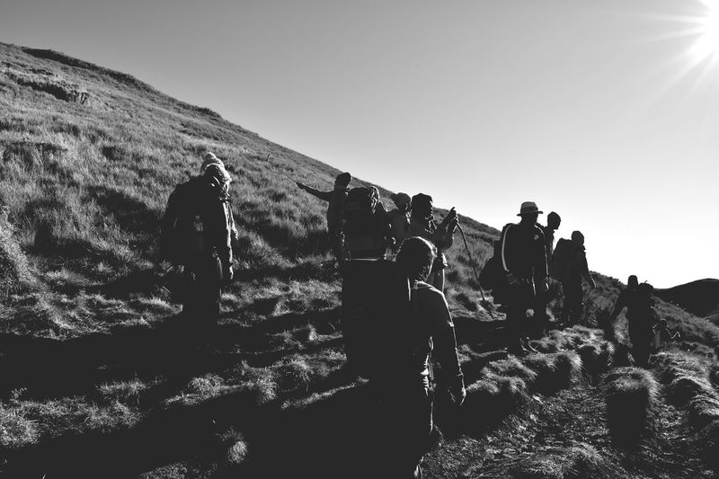 Mountain Climbing Hiking Adventures Mt. Pulag Blackandwhite Black And White Photography Black & White Blackandwhitephotography