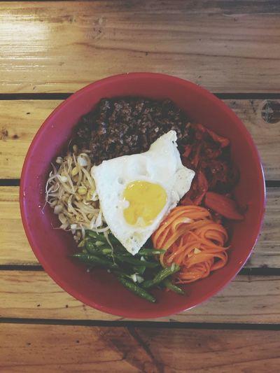 FoodTherapy Korean Koreanbibimbap Bibimbap Photooftheday Eye4photography  Food Eyeem Philippines