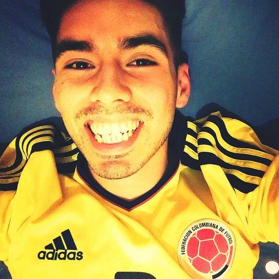 Vamos Colombia! Colombia Equipo Football Futbol Selfie Me Hello World Copa America Followme Follow4follow