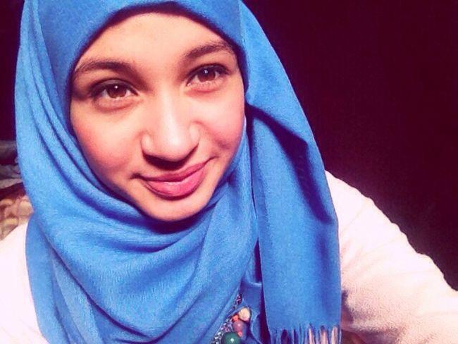 Hidjab Beautiful Blue First Eyeem Photo