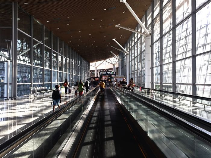 People at kuala lumpur international airport