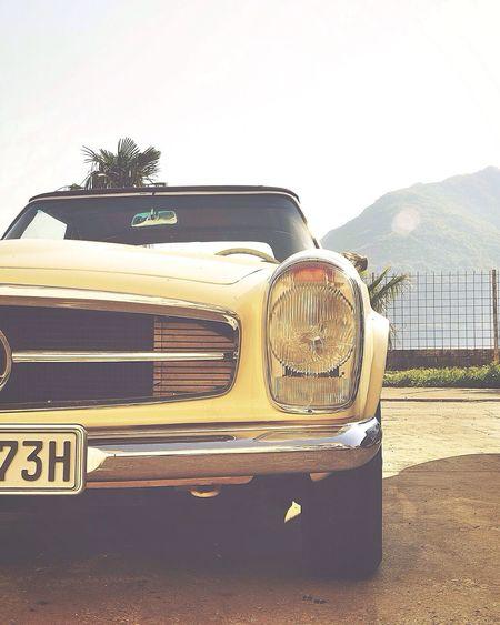 W113 Mercedes-Benz W113 Pagoda Montenegro Sunlight