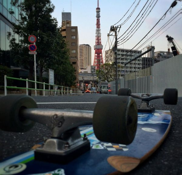 Post from my Flickr 365: 115/365 - Seasonal transition Tokyo On The Road Public Transportation Urban Landscape Longboard On The Move