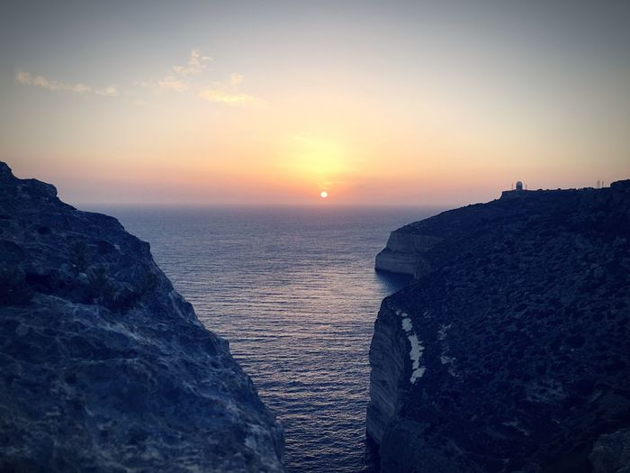 Been There. M Dinglicliffs Cliffs Malta Sunset Sea Nature Water Sky Beauty In Nature Scenics Sun Tranquility Tranquil Scene Rock - Object No People Horizon Over Water Outdoors Day Lost In The Landscape Colour Your Horizn The Traveler - 2018 EyeEm Awards