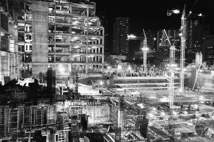 Black And White Friday Building Exterior Built Structure Architecture Night Illuminated City Outdoors City Life No People Cityscape