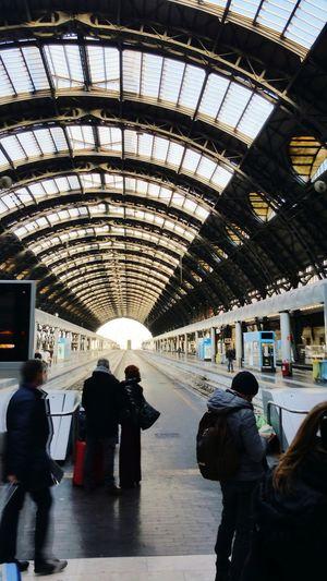 Trains station Milan