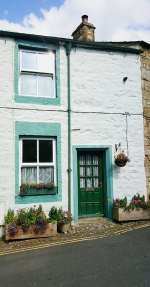 Dales cottage Settle North Yorkshire Cottage Yorkshire Dales No People Dwellings Outdoors
