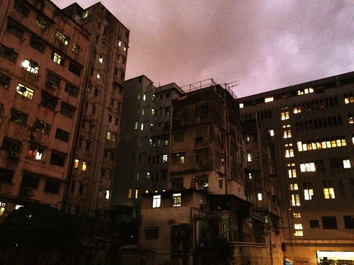 Urban Shamshuipo Building . Night
