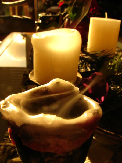 Advent Advent Wreath Blowing Candles Blowing Out The Candles Burning Candle Christmas Decorations Christmastime Close-up Coronalight Decoration Fire Fire - Natural Phenomenon Flame Garland Heat - Temperature Indoors  Lit Smoke Smokey Still Life Table Wax Wreath