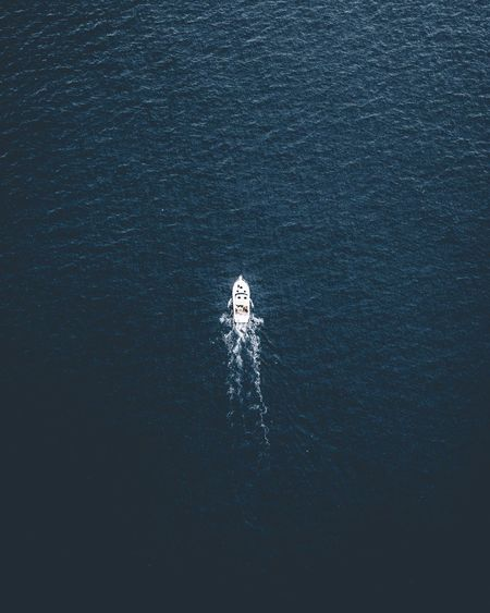 lost Summer Sea Trip Birdview Dronephotography Drone  Mallorca SPAIN Vacation Ocean Yacht EyeEm Selects Nature Outdoors Water Beauty In Nature