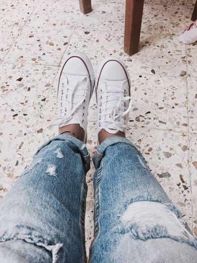 Sneakers First Eyeem Photo