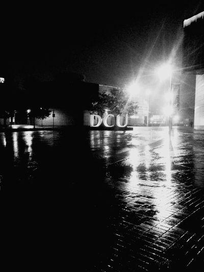 雨が降っている なぅ ダブリン