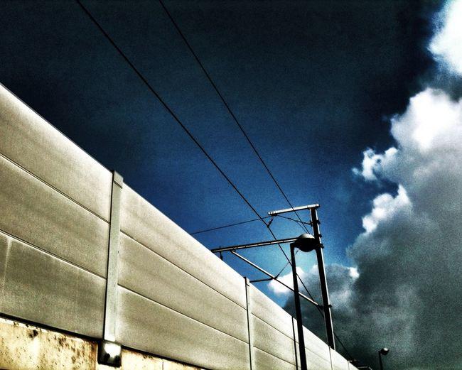 Electric Sky at Station Kortenberg Electric Sky