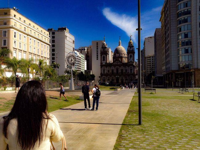 Downtown Architecture Built Structure Building Exterior Tourism Travel Destinations Rio De Janeiro Brasil Photos Official EyeEm © Rio De Janeiro Rio De Janeiro Eyeem Fotos Collection⛵ Candelária Church Olympics Olimpic Fire
