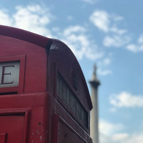 London Landmark Out Of Focus LONDON❤ London London Lifestyle London Streets NelsonsColumn Red Phone Boxes Sky And Clouds Travel United Kingdom Wanderlust Architecture Building Exterior Built Structure Close-up Cloud - Sky Clouds Clouds And Sky Day London_only Nature No People Outdoors Red Sky Skyporn