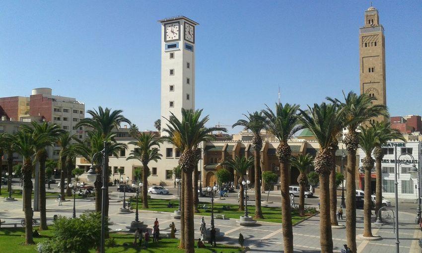 Morocco City View  Oujda City, Morocco