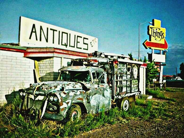 X Country Tucumcari New Mexico Antiques Things Route 66 Hdr_Collection HDR