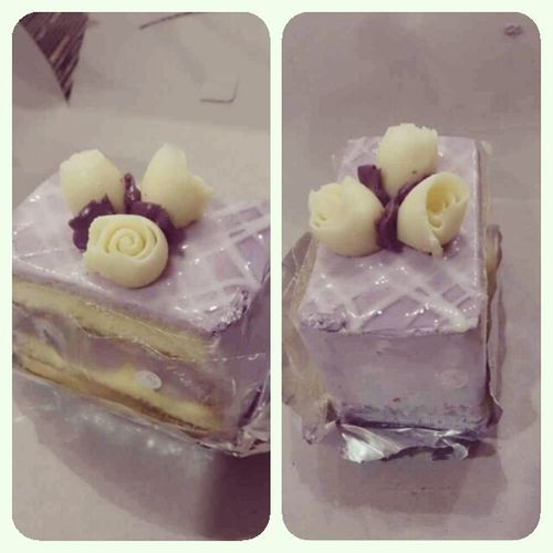 Cake Purple Cake Vanila Rose Flowers Delicious Food Delicius Cake Dessert