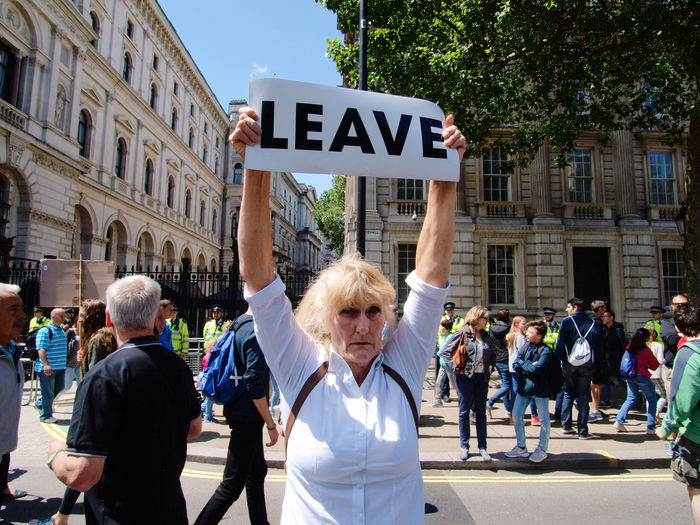 March For Europe 2-07-2016 London Central London Protest march demanding Britain remains in the European Union. Brexit Bridge Europe London Olympus Politics Protest Protesters Referendum2016 Remian Steve Merrick Stevesevilempire Uk Zuiko