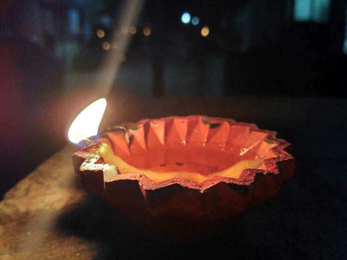 Close-up Diwali