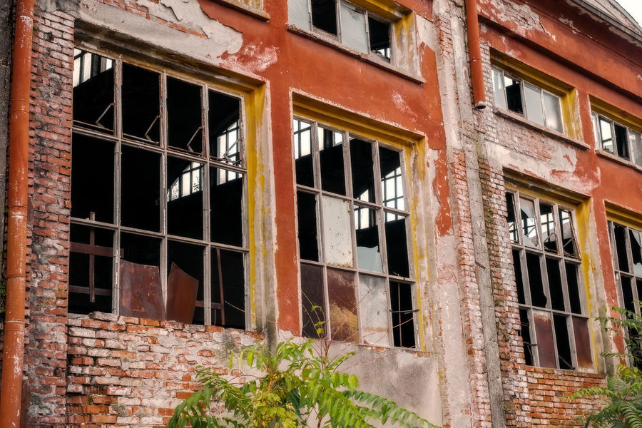 building in degradation Broken Window Decay Abandoned Architecture Brick Wall Broken Building Building Exterior Building In Degradation Built Structure Damaged Day Decay And Dereliction Decaying Building Degradation Degradation Colors Desolate Desolate Scene No People Outdoors Run-down Window The Still Life Photographer - 2018 EyeEm Awards