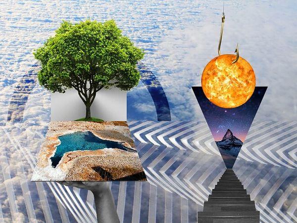 Geometric Anti Paradigm - 3.6.15 MyArt Design Art Photoshop Expression Graphicdesign