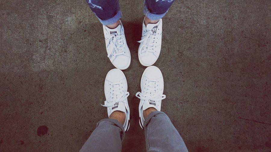 Tokyo,Japan 2016 Travels Adidas STAN SMITH Couple