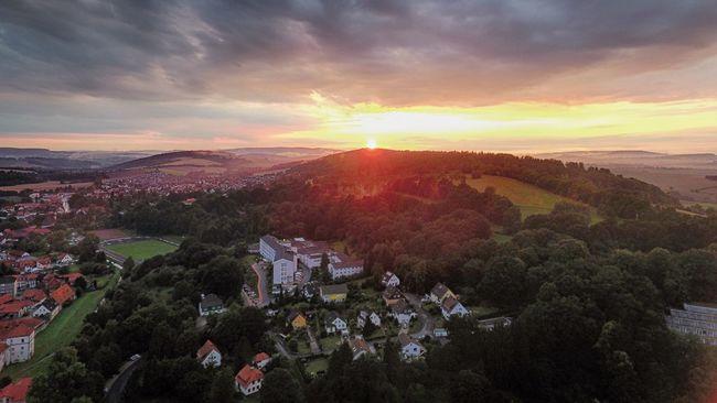 Bad Gandersheim Gandersheim Gan Sonnenuntergang Sunset Roswithastadt Dji Dji Phantom DJI Phantom 4 Phantom 4