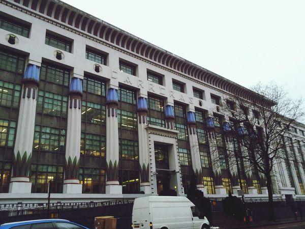 Carreras Cigarette Factory Art Deco Architecture Cats In Architecture