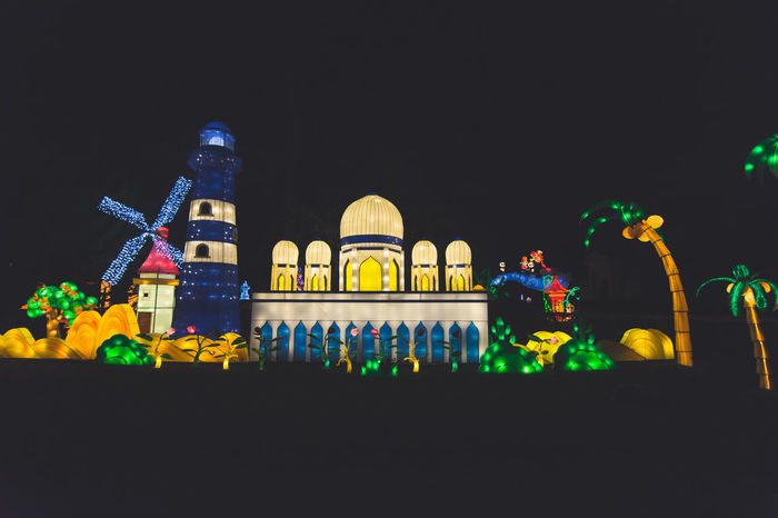 Chinese Lantern Festival - London - Chiswick House and Gardens Architecture Asian Culture Building Exterior Chinese Lantern Festival Chinese New Year Chiswick City Cny Illuminated Kung Hei Fat Choi Lantern London Multi Colored Night Night Photography No People Outdoors Sky Travel Destinations