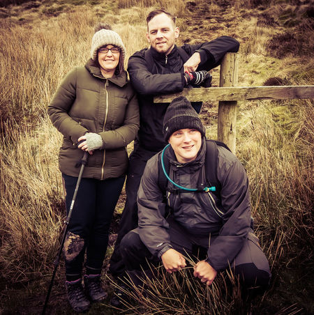 Adult Adults Only Cheerful Cold Temperature Day Family Friendship Happiness Looking At Camera Males  Men Mountain Outdoors Pen-y-ghent People Portrait Smiling Three Peaks Togetherness Winter Yorkshire Dales Yorkshire Three Peaks Young Adult Young Men Young Women