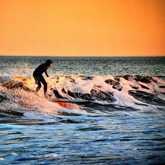 Sunset At Long Beach, NY EyeEm Best Shots Visualmagic Beach Sunset Sunset_collection Seafoam Surfer Dude Surfer_magazine Surf Photography Popular Photos