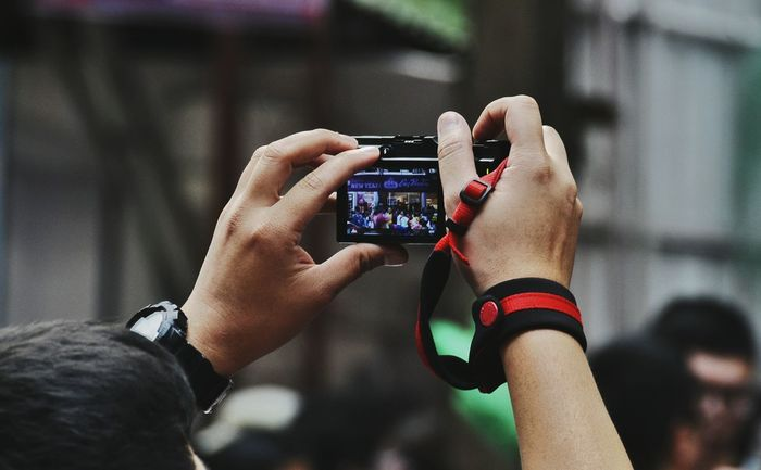 Wireless Technology Technology Smart Phone Communication Portable Information Device Mobile Phone Connection Photography Themes Device Screen Photo Messaging Digital Display Human Hand Only Men Outdoors Close-up Men Digital Viewfinder People Adults Only One Man Only