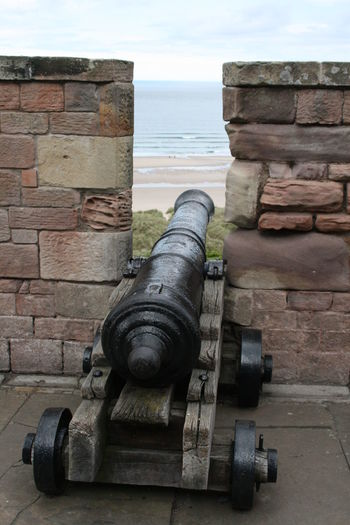 Cannon Canon Day Fort History Nature No People Outdoors Sea Sky War Weapon