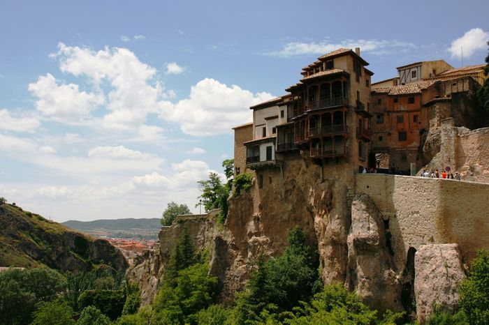 The views there are really breath taking. Architecture Architecture_collection Architecturelovers Casas Colgantes Cuenca, Spain Cultural Heritage Historical Building Mountain Old Architecture On The Edge Scenic View TOWNSCAPE UNESCO World Heritage Site Original Experiences Showcase June