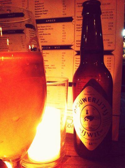 IJWIT by Brouwerij 't IJ @ Bokaal Rotterdam Lekker lekker, das Bier und die Bar. Bier Craftbeer Biers & Bars