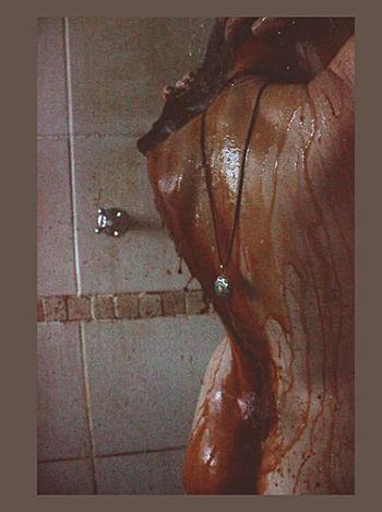 Shower Scene Majestic Tranquil Scene Close-up Back Naked_art Night Trippy Person Solitude Shower Depression Artist Nakedhuman