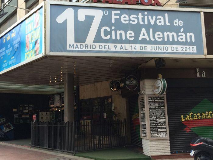 Festival des deutschen Filmes in Madrid