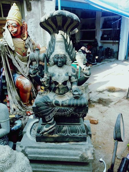 Statue No People Outdoors Day Built Structure EyeEmNewHere Travel Miles Away Mobilephotography Vacations India Godess