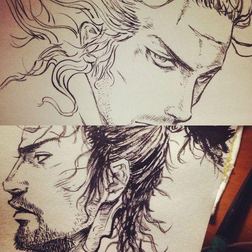 バガボンド Vagabond Art YohkoAmaterraArt Drawing ArtWork Illustration Manga 筆 My Art Work