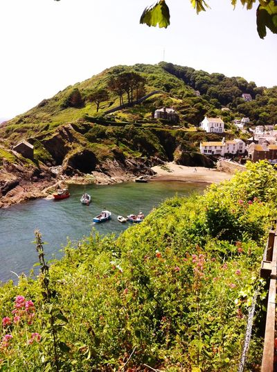 Unspoilt Beauty Fisherman Village Original Hello World Welcome To My World Welcome To Cornwall👍 Amazing View My Favorite Place Peace And Quiet Tranquility Tranquil Scene A Must See Harbour My Photography Cornwall Beautiful Coastal Walk Coastal Life Polperro Sea Stunning View