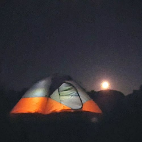 Moon Light Moon Moonlight Campingtrip Tent Camping Trip Camping Trip! Campinglife Camping Out Camping Norris Lake Norris Tn