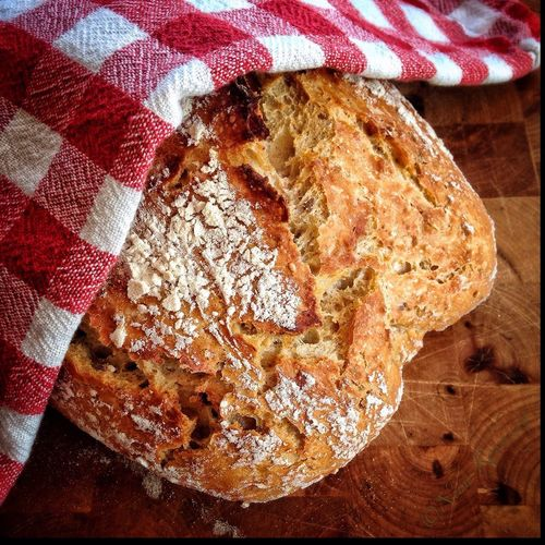 Homemade bread Homemade Baking Bread Baking Bread Indoors  High Angle View Pattern Table Still Life Food And Drink Food Textile EyeEmNewHere
