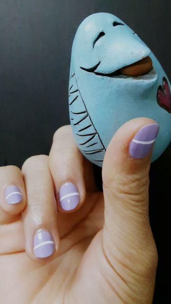 Nails Nail Art Color Nails Finger Finger Painting Pastel Colors Pastel Shades Pastel Nails Purple Purple Nails