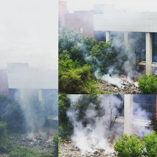 Here's a news Pune : They speak about the whole world, have a look at there backyard Lokmat Newspaper News Pollution Smoke Hazardous Toi catch this before it is extinguished Follow