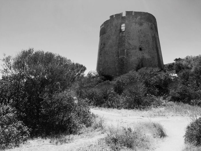 Sant'Elmo - Sardinia Architecture Sky Built Structure Building Exterior Nature History The Past Low Angle View No People Clear Sky Outdoors Travel Destinations Building